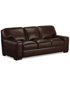 Kassidy Leather Sofa, Only at Macy's   macys.com