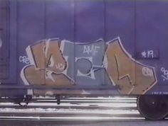 Tales From The Rails by 321. As the 1980's came to an end so did the graffiti on New York City's subway trains. During this same era graffiti writers were just beginning to discover the possibilities of painting America's freight-train system.