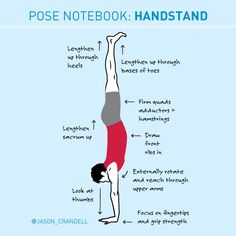 Learn how to warm-up and get into Handstand -- plus alternatives and tips if you're not yet able to do the pose!