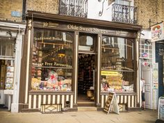 Be spoilt for choice in a fine old English sweet shop  Delight your inner child with a few sugary blasts from the past.