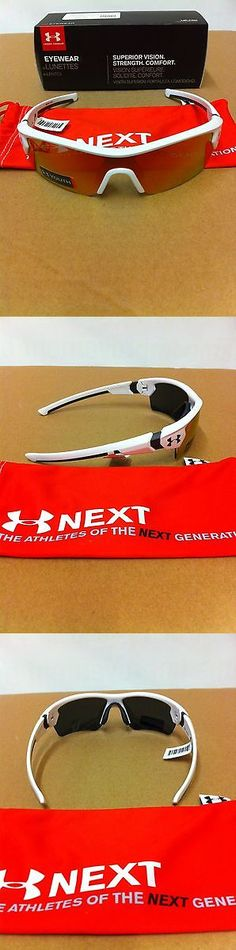 Sunglasses 131411: Under Armour Menace Youth Satin White Orange Multi Sunglasses Make Offers -> BUY IT NOW ONLY: $65 on eBay!