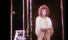David Bowie in Lindsay Kemp's production of Pierrot in Turquoise or The Looking Glass Murders. Photograph: Scottish Television