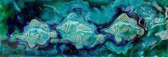 Ceramic Fish, Ceramic Wall Art, Glass Wall Art, Tree Wall Decor, Tree Wall Art, Fish Anatomy, Fish Pool, Tang Fish, Hawaiian Sea Turtle