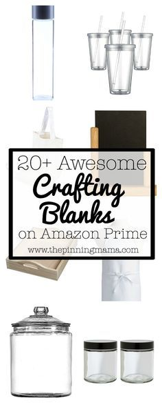 Awesome Crafting Blanks You Can Get on Amazon Prime  www.thepinningmama.com