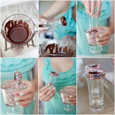Glass Decoration  #DIY