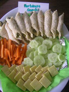 Herbivore Snacks - Dinosaur Birthday Theme