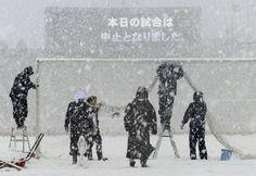 Tokyo Snowy Day