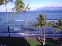 Love watching the whales in the mornings and afternoons from the balcony of our condo in Maui.