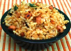 Peanut Rice (Verkadalai Sadham) | Bhojana Recipes