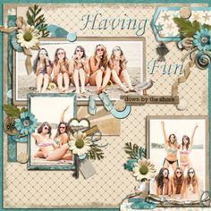 Having fun by the Shore by Atusia @Plaindigitalwrapper.com