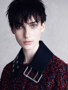 "leah-cultice:  "" Julia Bergshoeff by Patrick Demarchelier for Vogue UK September 2015  """