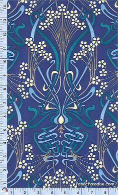 Classic Art Nouveau Pattern                                                                                                                                                                                 More