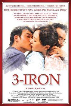 'Hierro 3' de Kim Ki duk    El siempre emergente(desde los años 90) cine coreano sigue dando coletazos de calidad en este 2012 con películas como Sector 7 o Encontré al Diablo.    Se estrena en 2004 y casi inmediatamente recorre los cines de todo el mundo gracias a las grandes críticas recibidas, que la llevan a alzarse con la espiga de Oro en la Seminci de Valladolid, además de estar nominada a la palma de oro en Cannes.    Tae-suk es un Bin-Jip...    @novenoarte