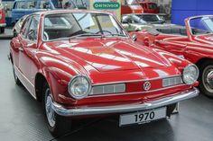 Karmanguia TC no Museu da VW Alemanha