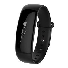 Sale 27% (25.99$) - M88 Smart Bracelet Real-time Heart Rate Blood Pressure Monitor Waterproof Touch Screen Watch