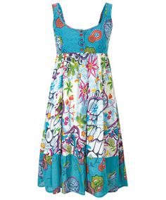 Fab & Funky Beach Dress by Joe Browns Simple Dresses, Casual Dresses, Fashion Dresses, Summer Dresses, Women's Dresses, Joe Browns Dresses, Salwar Designs, House Dress, Comfortable Outfits