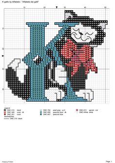 Alfabeto dei gatti: K