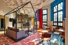 The Generator in Amsterdam by Design Agency   Yellowtrace