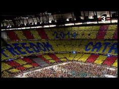 Els Segadors al Camp Nou #concertperlallibertat - #Independencia #Catalunya #Llibertat Balearic Islands, Spain, Europe, World, Catalan Independence, Youtube, Blog, Button, Reading