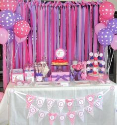 Birthday party decorations streamers polka dots 49 ideas for 2019 Doc Mcstuffins Birthday Party, Dinosaur Birthday Party, Unicorn Party, Third Birthday, 3rd Birthday Parties, Baby Birthday, Birthday Ideas, Streamer Party Decorations, Birthday Party Decorations