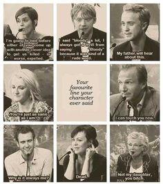 Harry Potter cast member's favorite lines. - Imgur