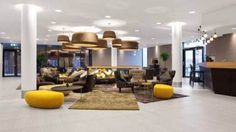 Lobby, reception, lounge... you name it! All at hotel Scandic Stavanger Forus in Norway.