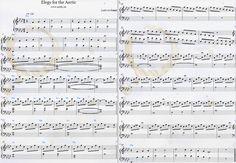 Ludovico Einaudi — Elegy for the Arctic Download PDF Piano Sheet Music Greenpeace