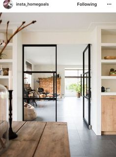Utilize these interior decor ideas to brighten your house and give it new life. Home decorating is fun and may transform your house into a home whenever you learn how to get it done. Doors Interior, House Design, Room Design, House Interior, House, Home, Interior Design Living Room, Interior, Home Decor