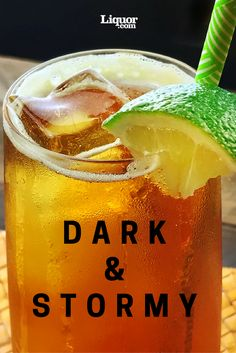 Classics You Should Know--Dark n' Stormy: This Caribbean rum cocktail is perfect no matter the weather.