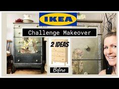 Chalk Paint Dresser: 2 artistes, IKEA Dresser Challenge avec l'invitée spéciale Annie Sloan! - YouTube Chalk Paint Dresser, Chalk Paint Colors, Chalk Paint Furniture, Annie Sloan Chalk Paint, Ikea Dresser, Special Guest, Challenges, Ideas, Painting