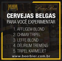 Cervejas Belgas para Você Experimentar