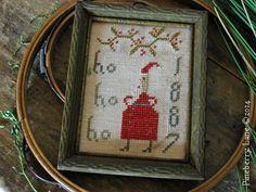 FREE Ho Ho Ho Cross Stitch Pattern $0.00