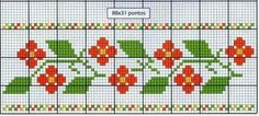 Cross Stitch Bookmarks, Cross Stitch Borders, Cross Stitch Flowers, Cross Stitching, Cross Stitch Embroidery, Cross Stitch Patterns, Knitting Designs, Knitting Patterns, Hand Embroidery Patterns