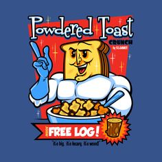 Powdered Toast Crunch Man by harebrained