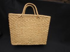 Vintage Beach Bag Made in China by MountainShine on Etsy, $20.00