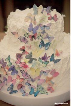 15 best bolos com chantilly images on pinterest food cakes cake borboletas altavistaventures Gallery
