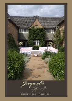 Summer Weddings at Greywalls Hotel & Chez Roux