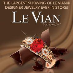 Le Vian Chocolate Diamonds Are a Girl's Best Friend #Chocolate_Diamonds