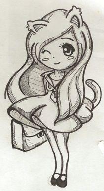 Anime Chibi Girls Easy Drawings | cheetah girls 2 , cheetah girls now , sleeping animal pictures funny ,