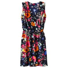 Merona® Women's Sleeveless Tulip Wrap Dress - Floral  Rating: Not rated: be the first to review    $19.00