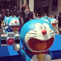 Wow... So cute!!! Doraemon 100 @Kathryn Harbour City .... - @Dorothy Todd Adams- #webstagram