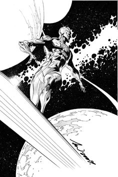 Silver Surfer by Tan Eng Huat