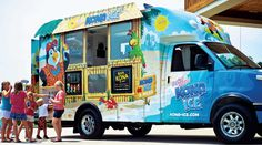Kona Ice of Savannah will come to you with yummy Hawaiian shaved ice and ice cream