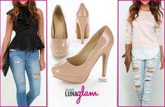 #Outfits perfectos con #Lunaglam ¿⬅Outfit izquierdo o outfit derecho➡?