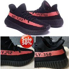 Cheap Adidas X YEEZY BLACK WHITE 350 BOOST V2 BY1604 100