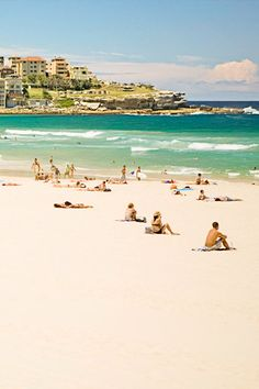 bondi beach australia....  I saw this picture and had flash backs to Christmas Day 3 years ago.... Ash, Mag, Mel, Nik and baby Lu !! Cheers Mate