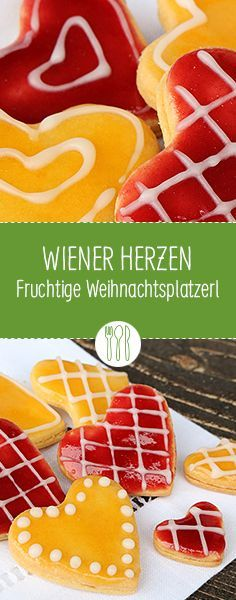 Fruchtig & klassisch: Wiener Herzen! #diehauswirtschafterei #allejahrewieder