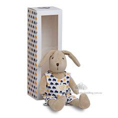 Bunny Toy - Navy Elephant