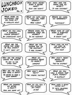 Lunchbox Jokes Volume 2