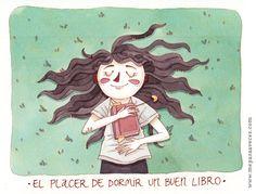 Dormir un libro